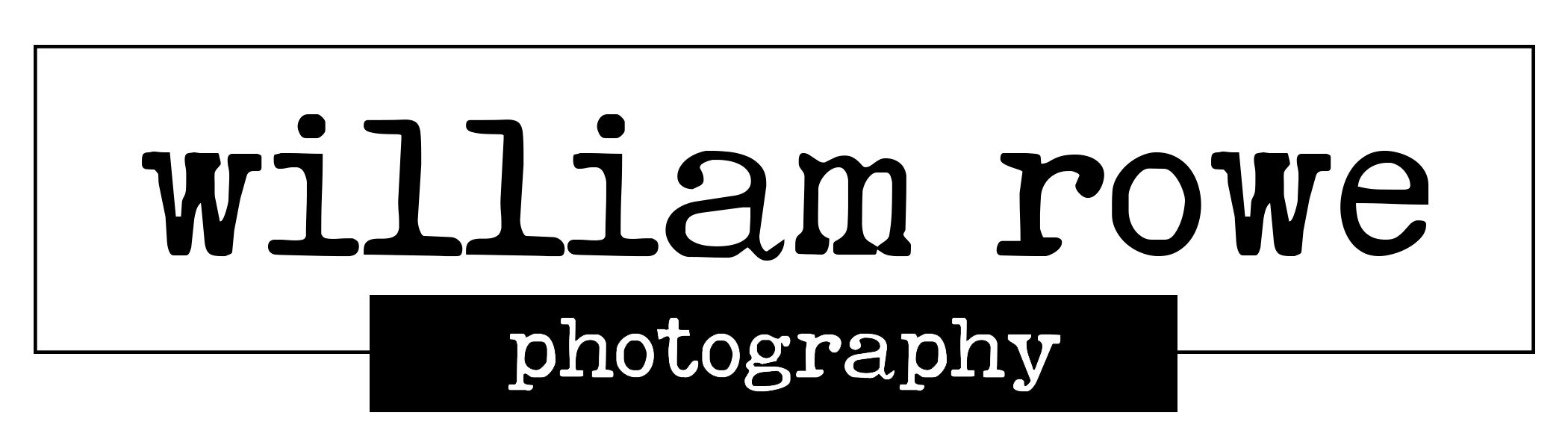 William Rowe Photography Logo